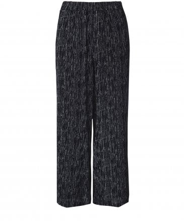 Neve Flecked Wide Leg Trousers