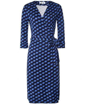 Silk New Julian Jersey Wrap Dress