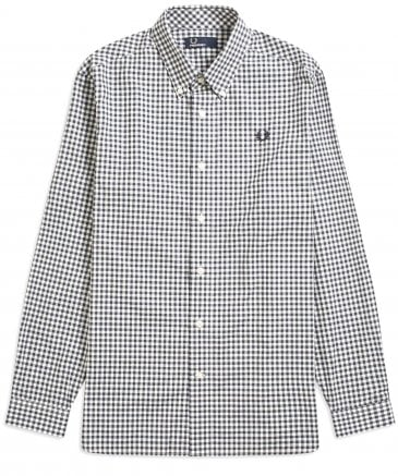 Oversized Two Colour Gingham Shirt M5554 738