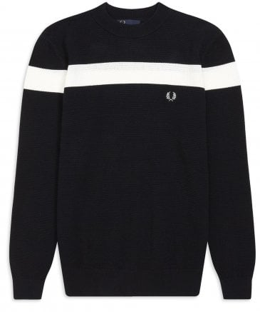 Crew Neck Colour Block Jumper K5513 608