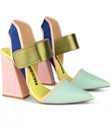 Kat Maconie Women's Izzy Colour Block Heels