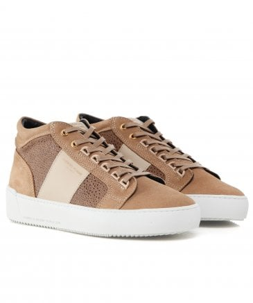 Stingray Suede Propulsion Mid Geo Trainers