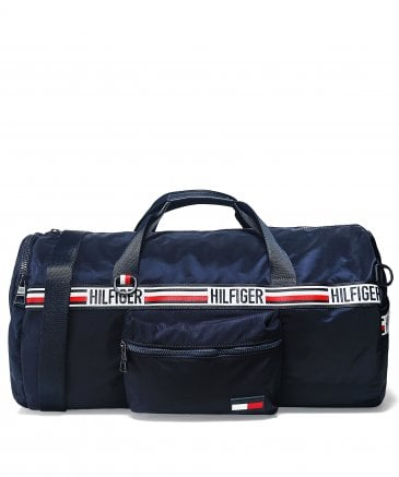 Signature Tape Convertible Duffle Bag