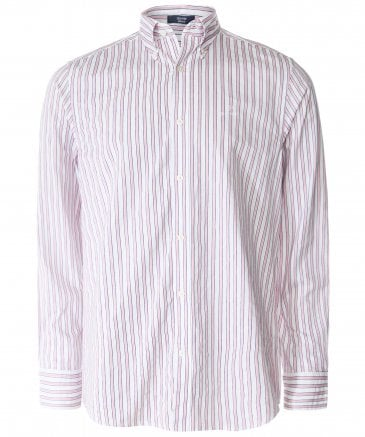 Regular Fit Tech Prep Striped Shirt