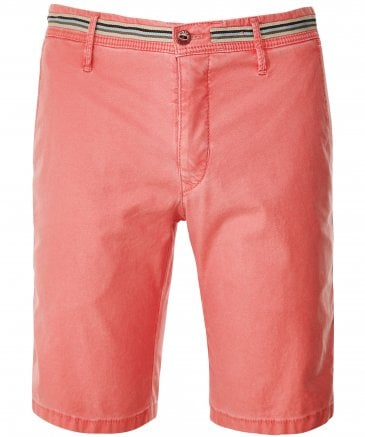 Textured Cotton Tigris Shorts
