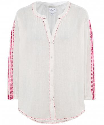 Auburn Embroidered Blouse