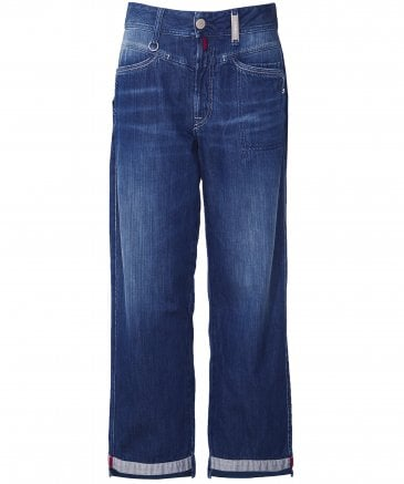 Bribe Straight Leg Cropped Jeans