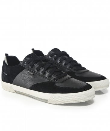 Waxed Leather Kaven Trainers
