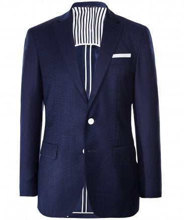 Textured Virgin Wool Hartlay Blazer