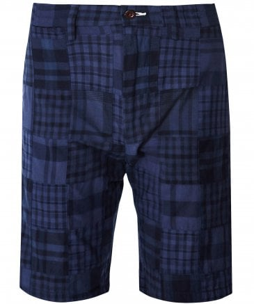 Madras Cotton Check Shorts