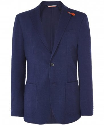 Textured Virgin Wool Blend Seba-1 Jacket