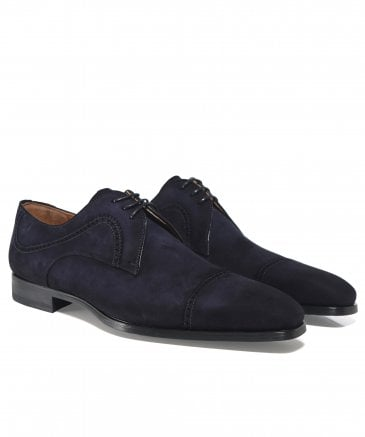 Suede Thunder Derby Shoes