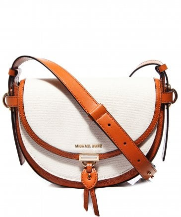 MICHAEL Michael Kors Women's Mara Crossbody Saddle Bag