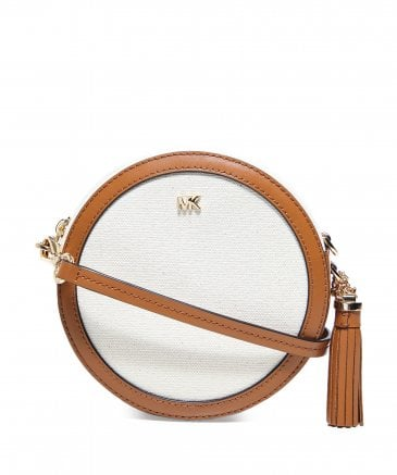 MICHAEL Michael Kors Women's Canvas Canteen Crossbody Bag
