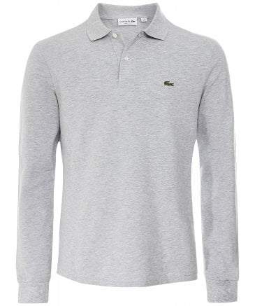 Classic Fit Long Sleeve Polo Shirt