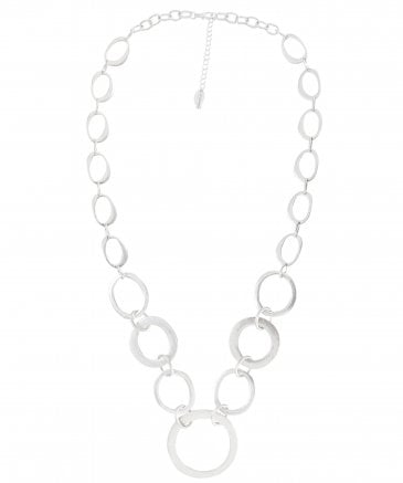 Nouv-Elle Women's Long Metal Chain Necklace