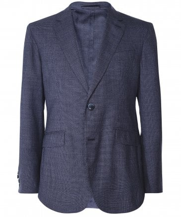Mouliné Wool Puppytooth Jacket