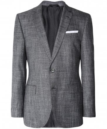 Slim Fit Virgin Wool Blend Hutsons4 Jacket