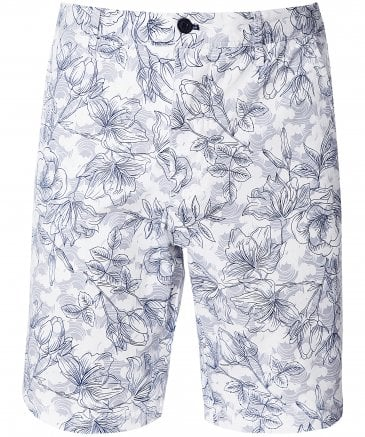 Regular Fit Floral Shorts