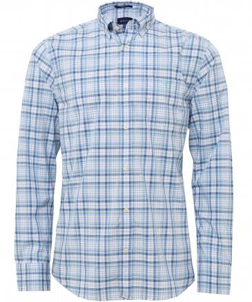 Regular Fit Tech Prep Broadcloth Check Shirt