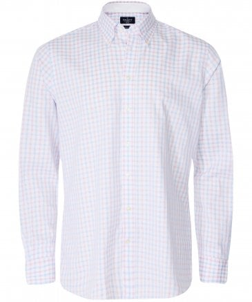 Classic Fit Two-Tone Gingham Shirt