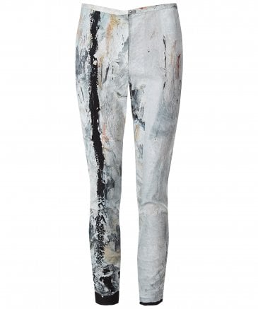 Cody Paint Print Trousers