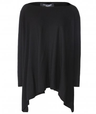 Oversized Batwing Sleeve Jumper