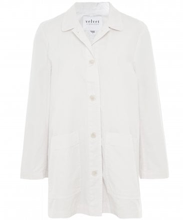 Rivka Canvas Button-Up Jacket