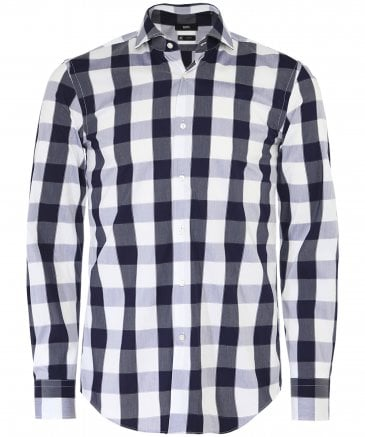 Slim Fit Blanket Check Jason Shirt