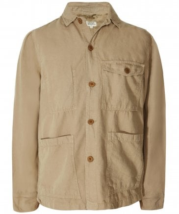 Woven Linen Blend Jim Jacket