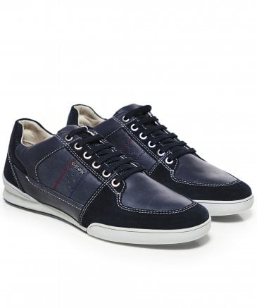 Waxed Leather Kristof Trainers