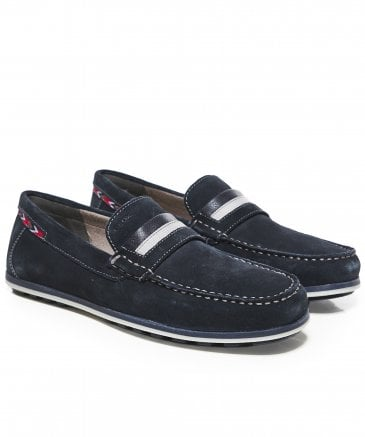 Suede Mirvin Penny Loafers