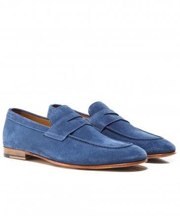 Suede Savana Penny Loafers