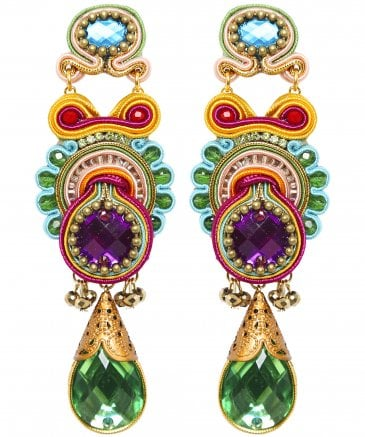 Lara Long Teardrop Earrings