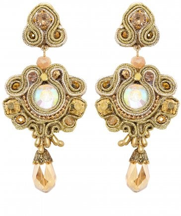 Regia Bead Drop Earrings