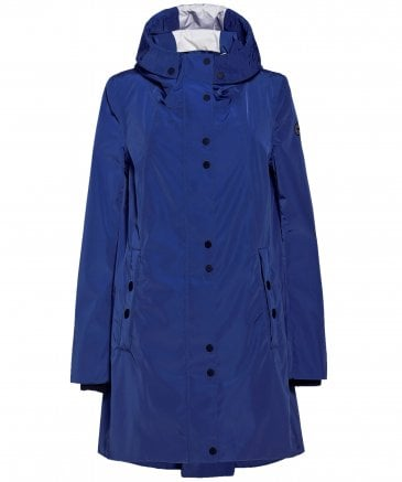 Zip Back Hooded Raincoat