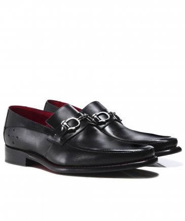 Leather Villian Melly Snaffle Loafers