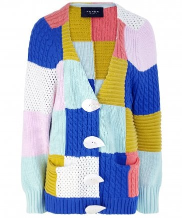 Patchwork Cardigan