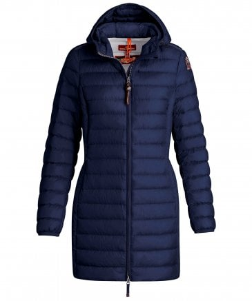 Irene Mid Length Hooded Quilted Jacket