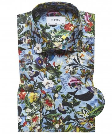Contemporary Fit Floral Shirt