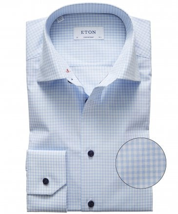 Contemporary Fit Gingham Shirt