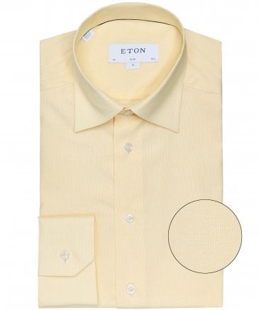 Slim Fit Micro Pattern Shirt