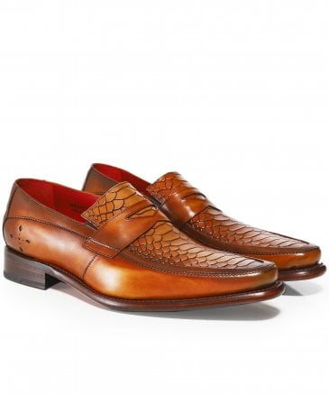 Leather Melly Penny Loafers