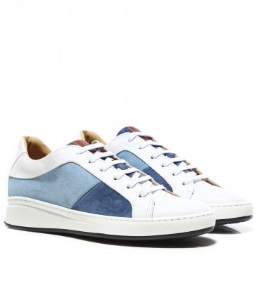 Leather & Suede Panel Trainers