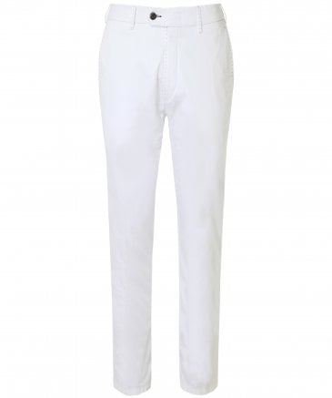 Slim Fit Pima Cotton Lupus Trousers