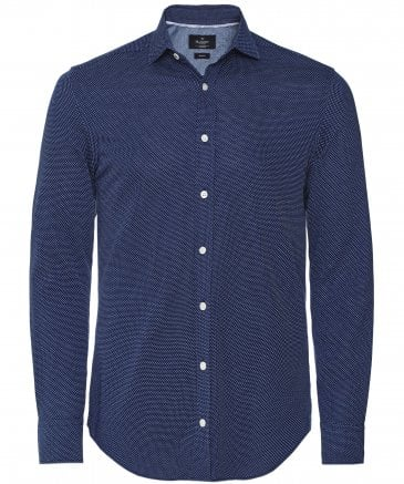 Slim Fit Cotton Jersey Shirt