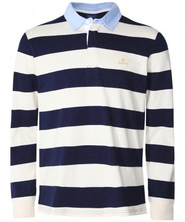GANT Barstripe Men's Heavy Rugger Shirt