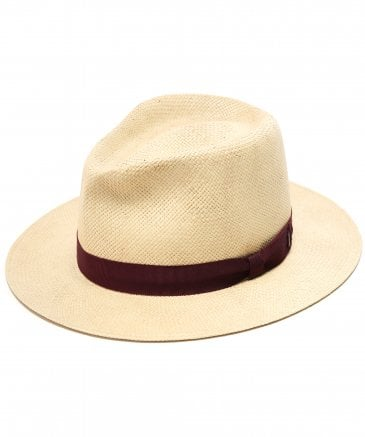 Straw Pencer Fedora Hat