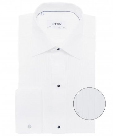 Contemporary Fit Plissé Dress Shirt