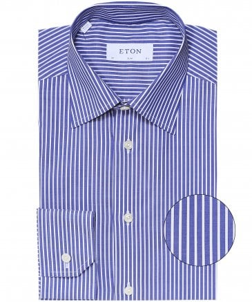 Slim Fit Bold Stripe Shirt